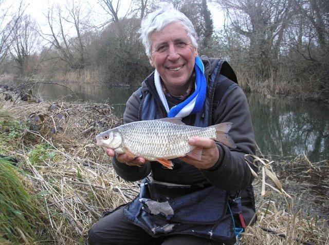 The coloured water could make winter roach fishing an option