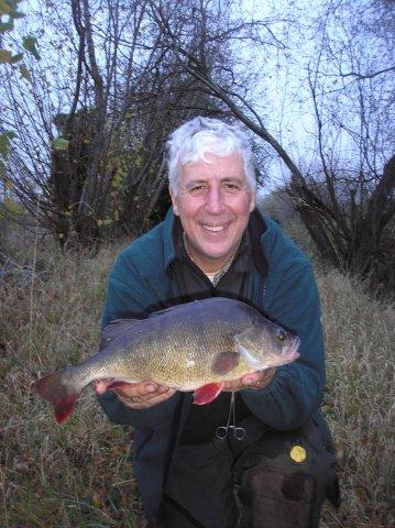A personal best Kennet perch is one of Martin's target for the Xmas hols