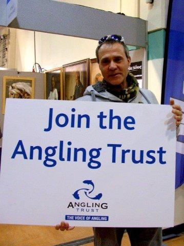 Matt Hayes - Angling Trust Ambassador - urging anglers to join us and contribute to the fight for fishing