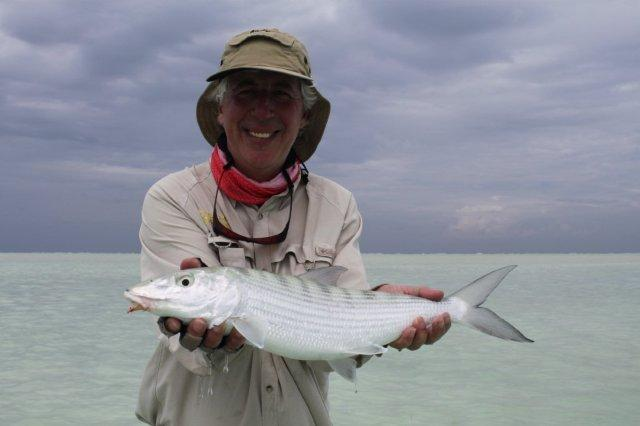 Bonefish are just the perfect species to catch on the fly. This was my best of around five pounds