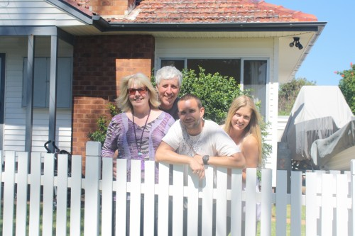 With the Bolton's at Gerringong - Crazy name, crazy people !