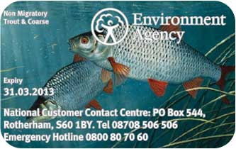 An extra £11 to process a £27 rod licence - no bloody way !