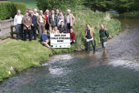 The Angling Trust's Charter for Chalk Streams hit the national headlines this year and framed the discussions around the government's water bill.