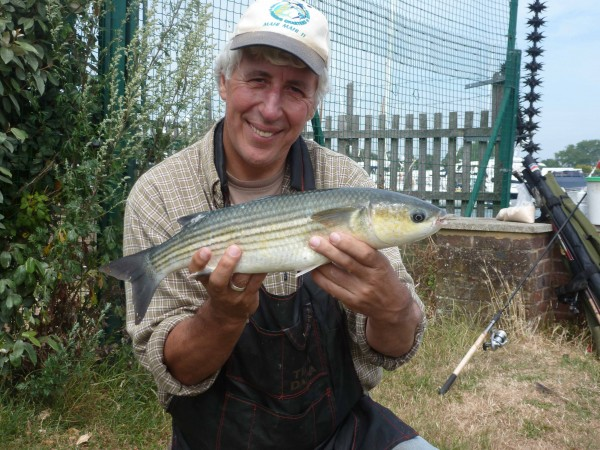 How nice is that? Martin Salter proudly displays the 'British Bonefish'