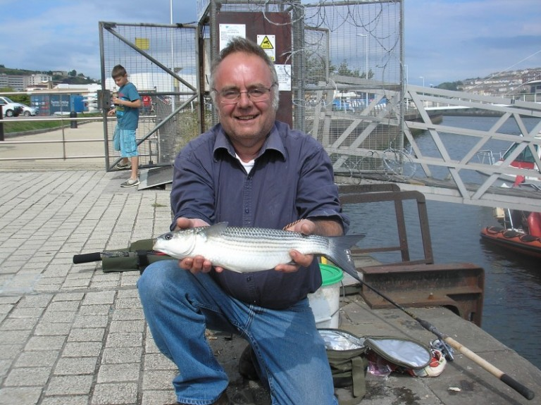 I was really pleased to help my old friend Nigel to catch his first mullet this summer. Another convert made for the 'British Bonefish'!