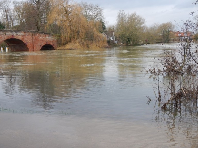 It rained a lot in January - closing Sonning Bridge on the Thames near Reading - and dredging the river would have brought down the floodwaters from the Cotswolds even quicker !