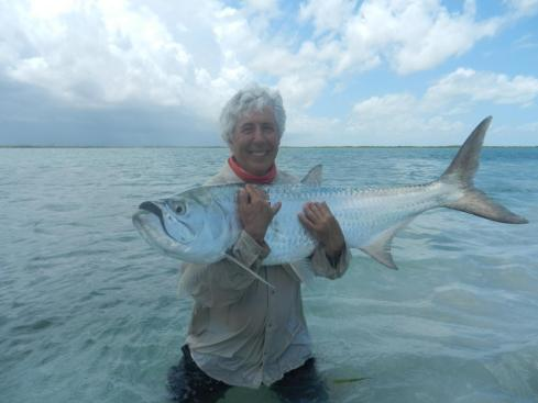 What feeds this fishing obsession? Is it reel screaming runs or leaping fishing - Martin's first tarpon did plenty of both - or is it simply the thrill of the take?