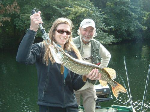 A first pike for a happy client