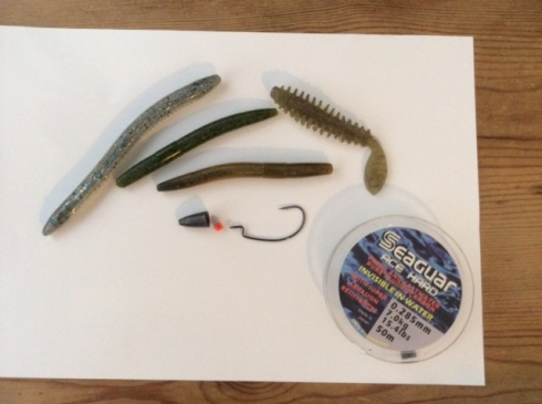 Just add braid and a suitable rod and reel and this little lot will catch plenty of wrasse in the right spots