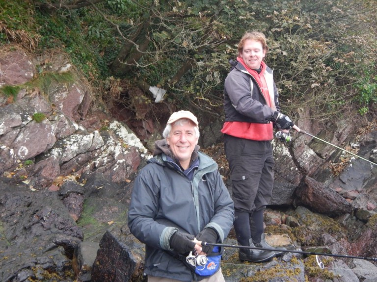 Welsh bass guide Matt Powell joined Martin for a day's fishing on the beautiful Pembrokeshire coast. Matt fully supports the Save our Bass campaign and is already lobbying the Welsh Assembly Government