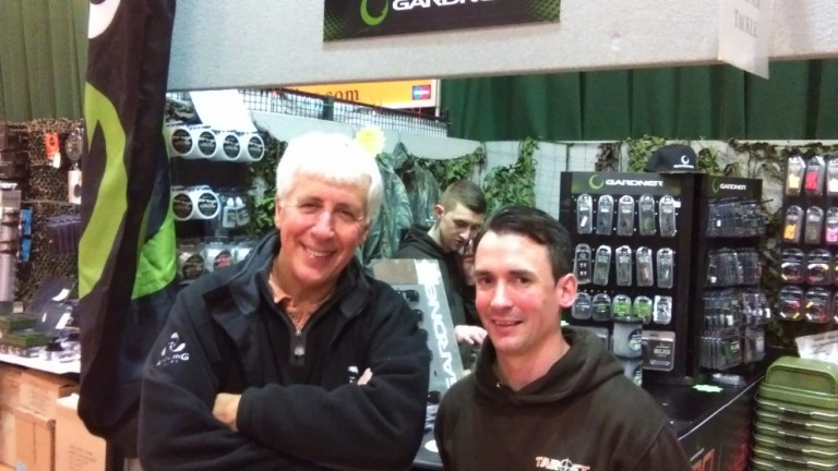 Plenty to talk about with Alan Stagg at the Carp Society Show