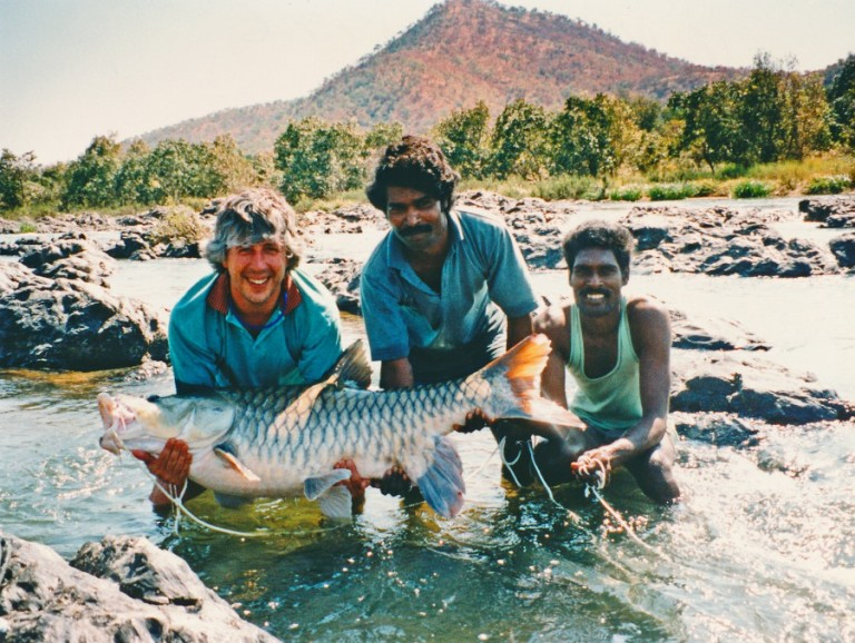 My first River Cauvery monster came in 1996 in the company of the late and legendary fishing guide Bola