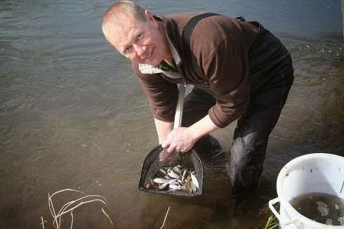 Trevor Harrop - Avon Roach Hero - someone who really is making things better for fish and fishing