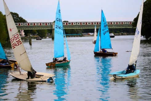 As well as angling there are sailing races, foreshore walks and chances to try out kayaking and paddle boarding