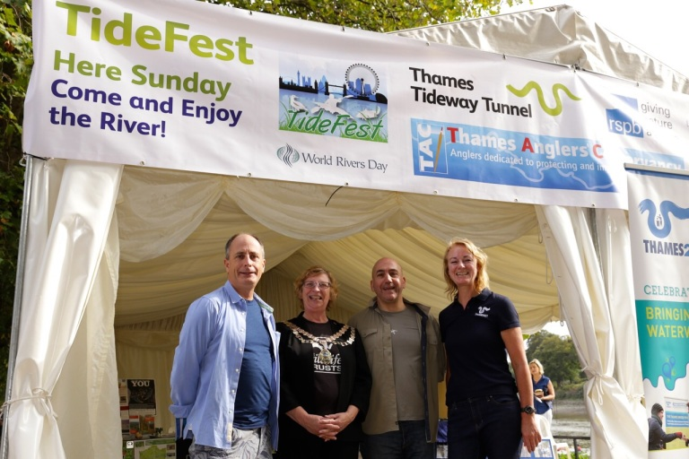 TideFest is organised and supported by a whole range of environmental and river groups, including the Angling Trust