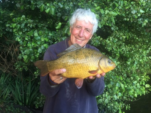 At 3lbs 2ozs this lovely Johnson's Lake crucian was another personal best