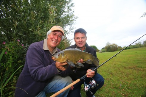 They might not grow as big as marlin but Al was impressed with the plucky fighting qualities of our English tench