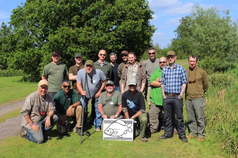 The Association of Crucian Anglers - a great bunch who are committed to making things happen.