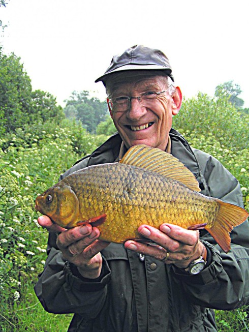 Crucian guru and author Peter Rolfe has contributed a lifetime's experience to helping others preserve his favourite species.