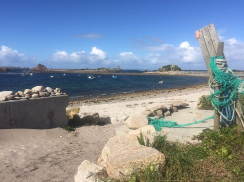 Next year Martin plans to test the wrasse potential of St Agnes - the most rugged of the five inhabited Isles of Scilly.