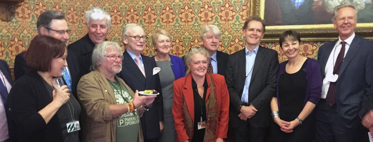 Environmentalists for Europe was launched earlier this year in Westminster.
