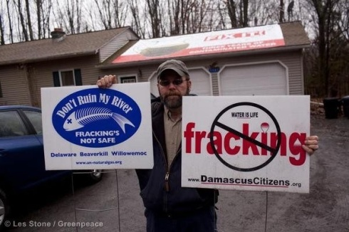 Anglers and river groups in the USA fought a long and tough battle against fracking.
