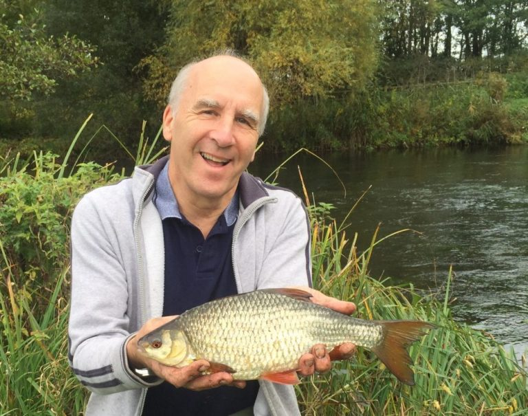 This two pound Test beauty was truly a fish of lifetime for Dave Wales