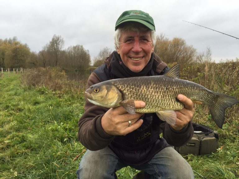 Despite the otters the chub fishing on the Hampshire Avon has never been so good.
