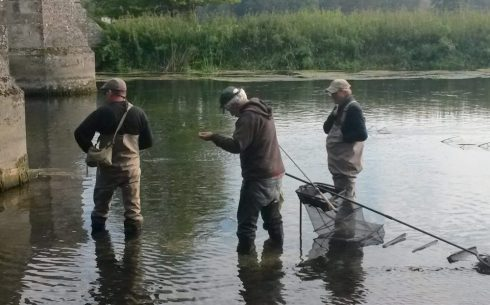 Three MPs (one retired), a bridge and a shoal of chub. What could possibly go wrong!